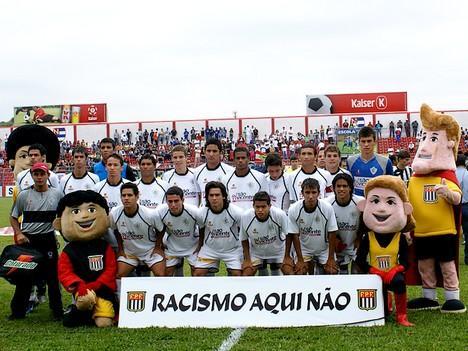 Equipe do Rio Branco pronta para a decisão (Foto: Orlando Lacanna / Jogos Perdidos)