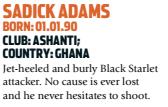 A descrição de Adams (Foto: Reprodução/soccernostalgia.com)