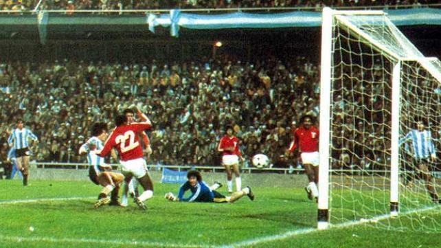 Argentina não teve dificuldades contra o Peru em 78 (Foto: Divulgação)