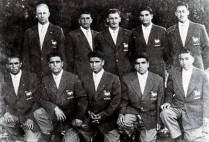 Chile perdeu para o Egito na estreia dos Jogos Olímpicos de 1952 (Foto: Reproduão/ La Cuarta)