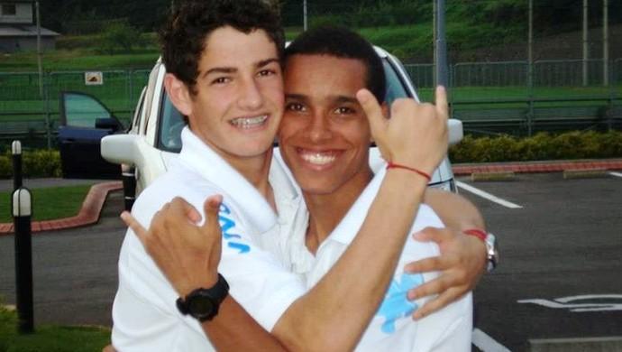 Atletas se tornaram parceiros em campo e amigos fora dele (Foto: Divulgação)