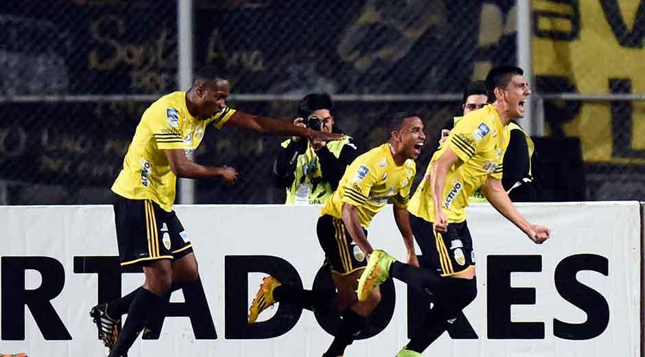 Táchira eliminou o Cerro em 2015 (foto: Reprodução)