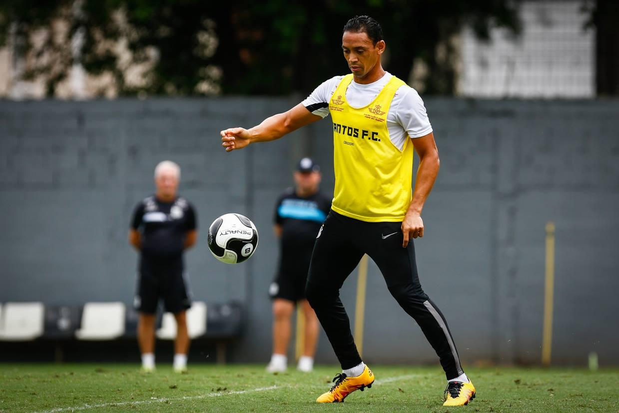 Ricardo Oliveira é a referência no ataque santista (Foto: Reprodução)