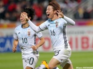 Japão foi  asiático sub-23 (Foto: Reprodução/globoesporte.com.br)