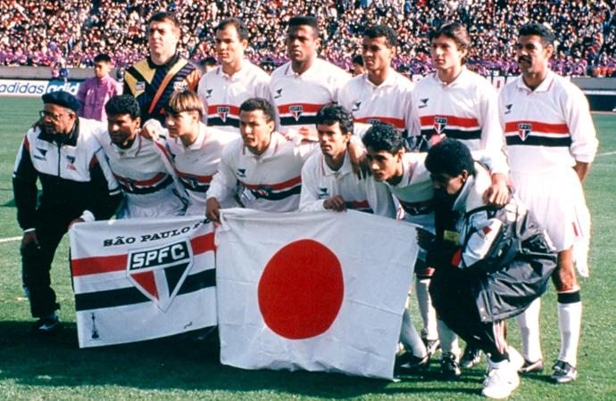 Time campeão do mundo em 1993 (Foto: Reprodução)