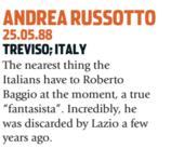 Russotto foi uma das piores decepções italianas (Foto: Reprodução/soccernostalgia.com)