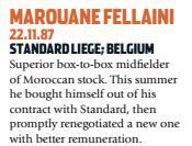 Fellaini era o gigante belga que prometia na seleção (Foto: Reprodução/soccernostalgia.com)