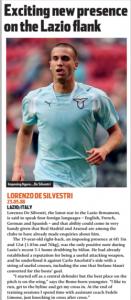 De Silvestri era o grande lateral defensivo da época (Foto: Reprodução/soccernostalgia.com)