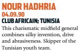 Hadhria era potencial craque (Foto: Reprodução/soccernostalgia.com)