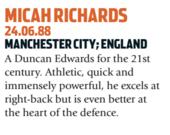 Richards era um dos grandes zagueiros do futebol inglês (Foto: Reprodução/soccernostalgia)