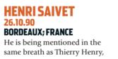 Saivet era o novo Henry (Foto: Reprodução/soccernostalgia.com)