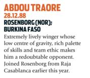 Traore é jogador de Burkina Faso (Foto: Reprodução/soccernostalgia.com)