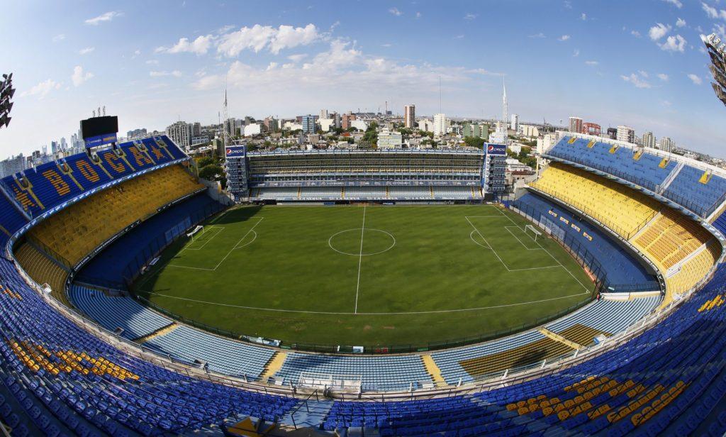 Fundado em 1940, Estádio Alberto J. Armando tem cerca de 49 mil lugares. (Foto: Javier Garcia Martino/Photogamma)