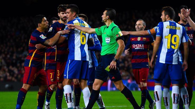 Barcelona x Espanyol (Foto: Reprodução)