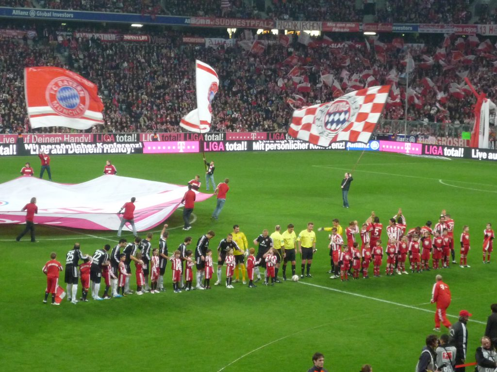 Bayern x Nuremberg (Foto: Reprodução)