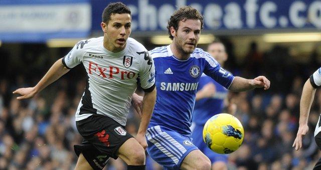 Chelsea x Fulham (Foto: Reprodução)