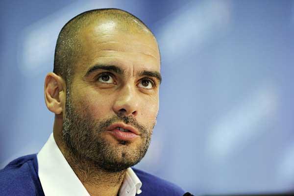 Guardiola comandará o time inglês a partir da próxima temporada (Foto: Divulgação/Bayern)