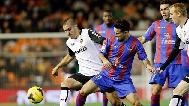 Valencia x Levante (Foto: Reprodução)