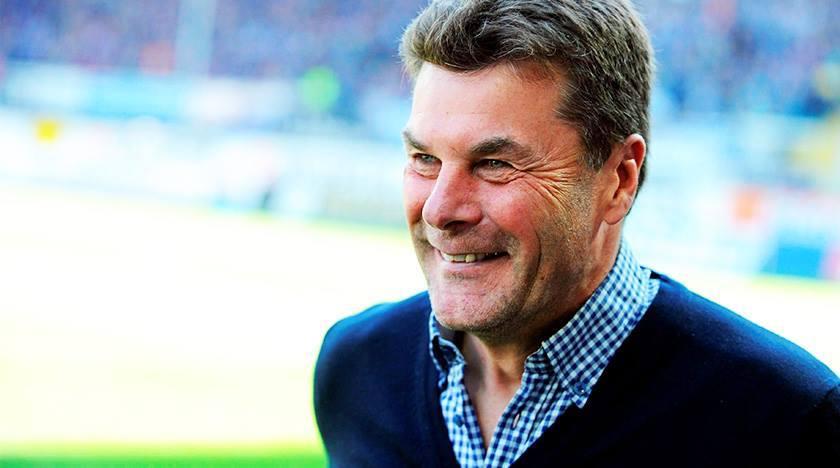 Dieter Hecking, treinador dos Lobos desde 2012 e responsável pelo sucesso do clube (Foto: Reprodução)
