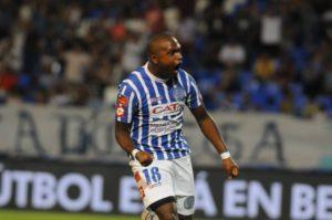 O atacante uruguaio Santiago García é o artilheiro da equipe com quatro gols (Foto: Marcelo Ruiz/Los Andes)