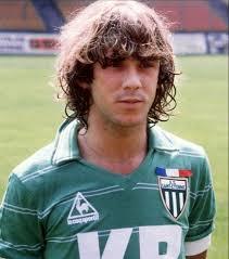 Laurent Roussey tinha o cabelo grande de grande estrela (Foto: Reprodução/sports.gentinside.com)