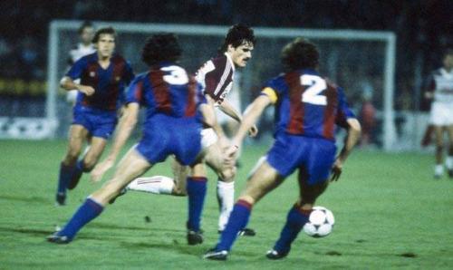 Metz superou diversos obstáculos para superar o Barcelona em 1984 (Foto: Reprodução)