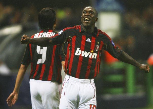 Seedorf no Milan: melhor momento de sua carreira (Foto: Reprodução)