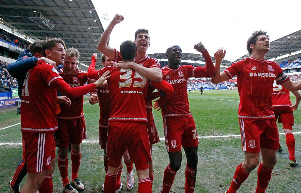 Boro está perto de voltar à elite do futebol inglês (Foto: Divulgação/Middlesbrough)