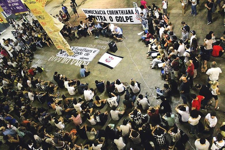 Democracia Corinthiana contra o golpe
