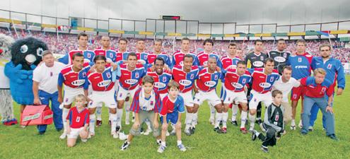 Equipe campeã paranaense 2006 (Foto: Reprodução)