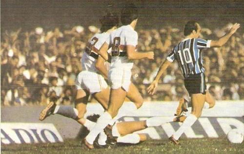Vilson Taddei era o 10 Tricolor em 1981 (Foto: Reprodução)