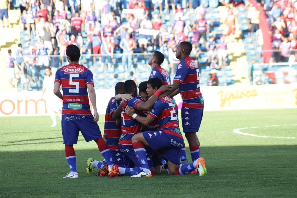 Elenco do Tricolor tenta quebrar a indigesta sequência na terceira divisão (Foto: Fortaleza/Divulgação)