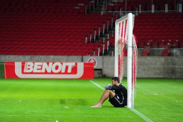 """""""O Beira-Rio é um pedaço de mim"""", escreveu o goleiro nas redes sociais (Foto: Ricardo Duarte / Inter)"""