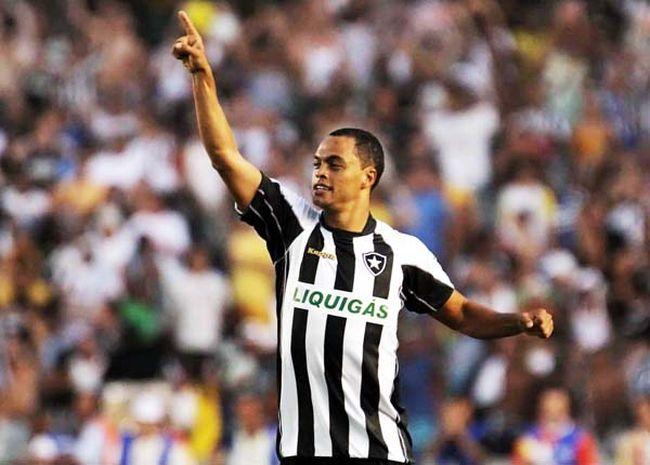 No Botafogo viveu os melhores momentos na carreira (Foto: Reprodução)