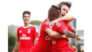 Benfica foi campeão com 100% de aproveitamento (Foto: Reprodução/record.xl.pt)