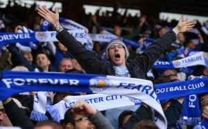Leicester foi campeão inédito da Premier League (Foto: Reprodução/Telegraph/REX)