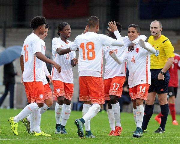 Seleção holandesa demonstra muito potencial no grupo da morte (Foto:Divulgação/KNVB)