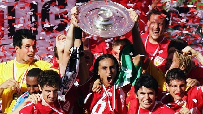 Hoje rebaixado, Stuttgart venceu a Bundesliga pela última vez em 2007 (Foto: Reprodução/UEFA)