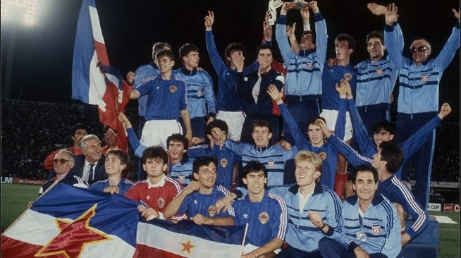 A geração campeã mundial sub-20 em 1987 era o motor da Iugoslávia na década de 1990 (Foto: Reprodução)