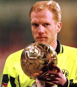 Matthias Sammer e o Ballon D'Or (Foto: Reprodução / sport.gentside.com)