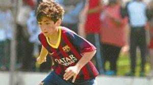 Lacava era promessa do Barcelona (Foto: Reprodução/ el-nacional.com)