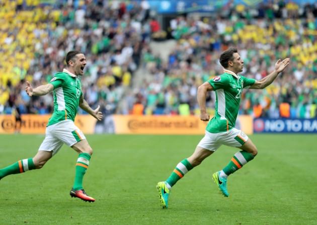 Irlanda é uma das seleções que surpreenderam ao passar de fase na Euro (Foto: Divulgação/UEFA)