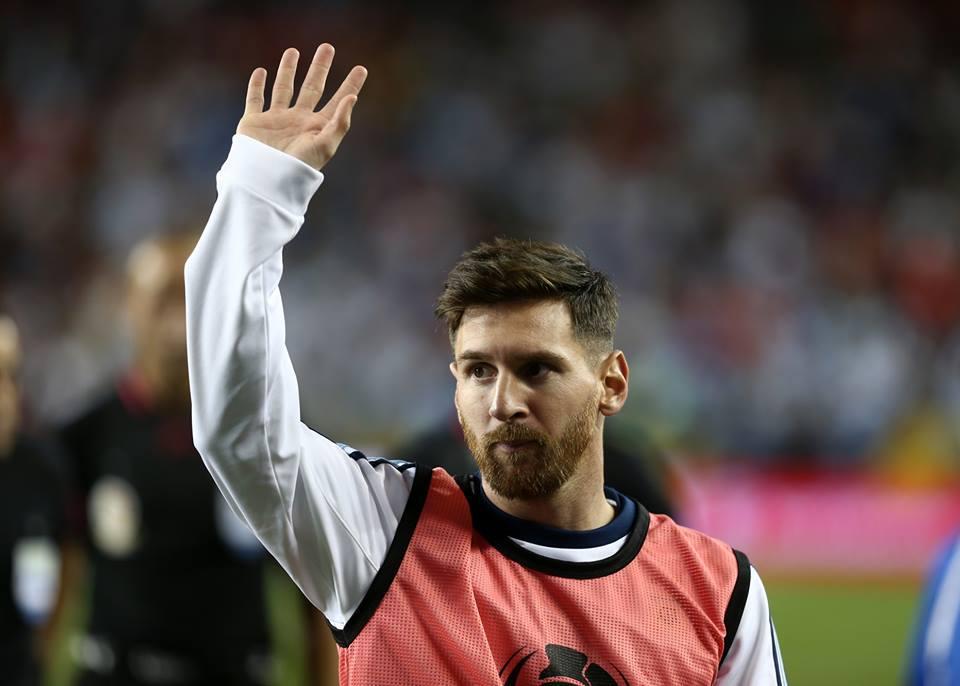 Messi's beard