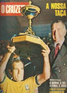 Gérson foi capitão do Brasil na conquista da Minicopa (Foto: Reprodução/O Cruzeiro)