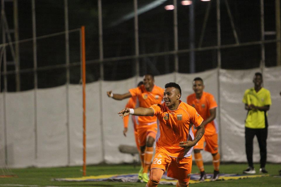 Envigado celebra vitória e liderança após bater o Tolima em casa (Foto: Divulgação/Envigado FC)