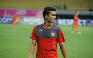 Babunski lidera a seleção da Macedônia sub-21 (Foto: Reprodução/sport.es)