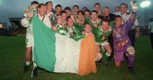 A qualidade da equipe campeã europeia sub-16 (Foto: Reprodução/joe.ie)
