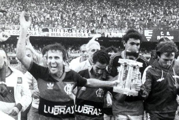 Zico: campeão brasileiro em 1987 (Foto: Reprodução)