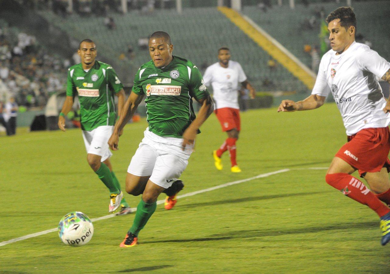 Guarani e Boa empataram em 1 a 1 no primeiro jogo da decisão da Série C (Foto: Israel Oliveira/Guarani Press)