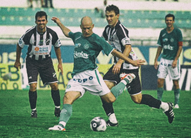 Guarani 1 x 0 ABC, pela Série B de 2009 (Foto: Elcio Aevesaam)